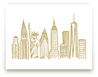 New York City Scape by Abby Munn