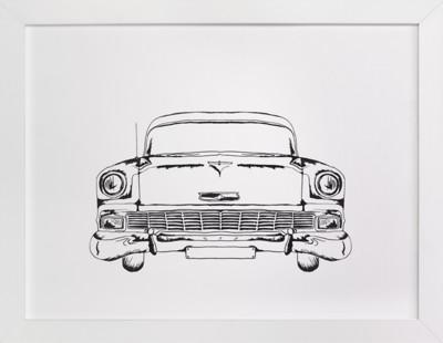 Inked Classic  Art Print