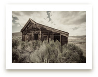 Buildings of Bodie, CA... by Kellie Medivitz