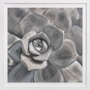 Grey Velvet  Art Print
