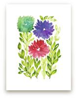hand painted flowers_1N by aticnomar