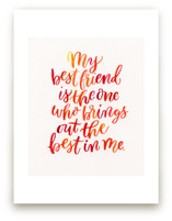 Best Friend by Laura Bolter Design