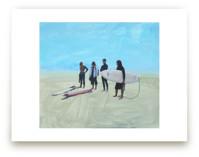 Surf Gang, Venice Beach by Annie Seaton