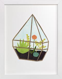 Terrarium 1  Art Print
