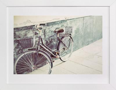 Italian Bicycle  Art Print