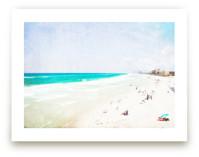 Vintage Beach Scene by Mary Ann Glynn-Tusa