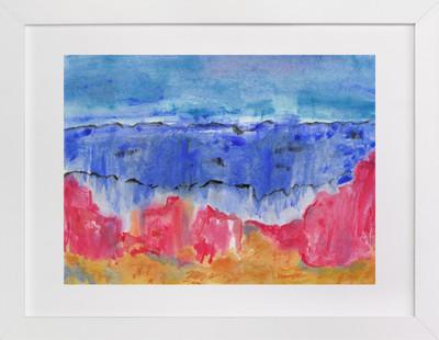 Red Beach  Art Print