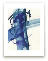 Modern Blue One by Misty Hughes