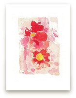 Flowers in Nostalgia by Artsy Canvas Girl Designs