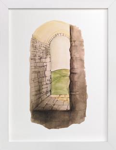 Window to Italy  Art Print