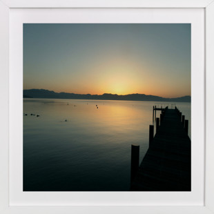 Lake Tahoe Series  Art Print