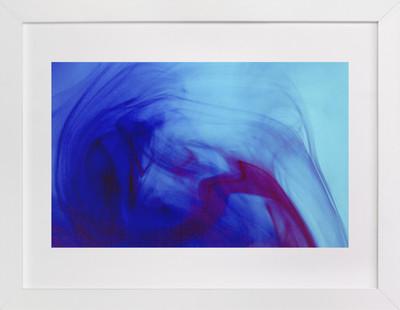 Dark Blue  Art Print