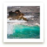 Wave Crashing on Lava R... by Mary Ann Glynn-Tusa