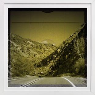 The Road We Travel Nine  Art Print