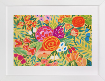 Floral Composition  Art Print