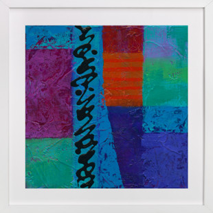 Color Block II  Art Print