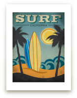 Surf California by Smudge Design