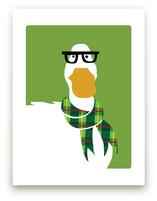 Hipster Duck by Mayel