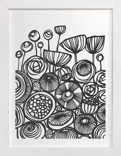 Pop Art Flowers  Art Print