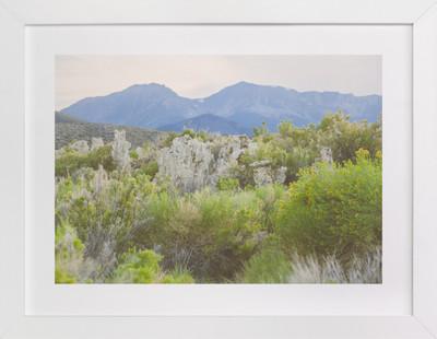 Lost Mountain  Art Print