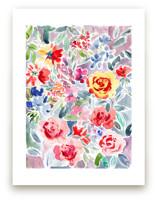 Watercolor Flowers 2 by Susanna Nousiainen