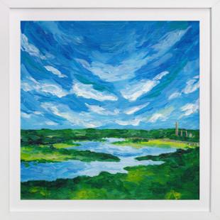 Long Meadow Lake  Art Print