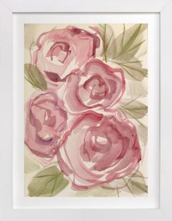 ROSIE POSIE  Art Print
