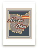 Akron, Ohio by Nathan Poland