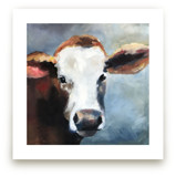 Young Calf by Amanda Phelps