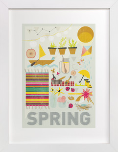 4 Seasons : Spring  Art Print