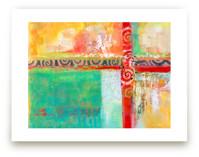 Sunlit Journey by Laura Bolter Design