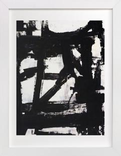 Not Always Black + White  Art Print