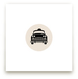 Retro Taxi by Cheer Up Press