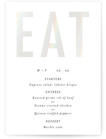 Oui Gloss Press Menu