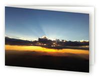 Sunrise card by Jeff Vilkin
