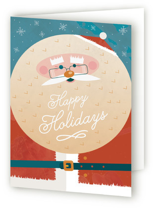 Happiest Santa Self-Launch Holiday Cards