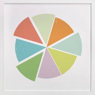 Piece of the Pie Self-Launch Children's Art Print