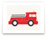 Fierce Firetruck by Jessie Steury