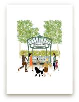 Paris Metro by Shiny Penny Studio