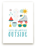 Play Outside by Katie Zimpel