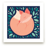 Hibernating Fox by Charla Pettingill
