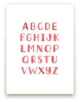 Lettering Alphabet