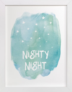 Nighty Night Self-Launch Children's Art Print