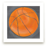 Basketball-Gray by Rebecca Marchese