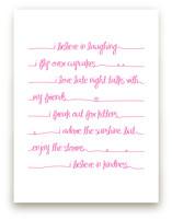 Positive Script by Rebecca Lowe