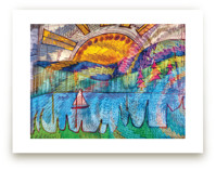 Sail Away NW Art Print