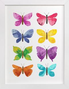 My Butterflies Self-Launch Children's Art Print