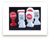 Transportation Signs by Mary Ann Glynn-Tusa