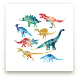 Dinosaurs are Awesome Wall Art Prints