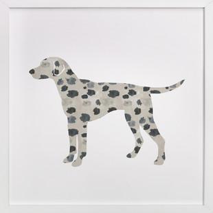 Dotty the Dalmatian Self-Launch Children's Art Print